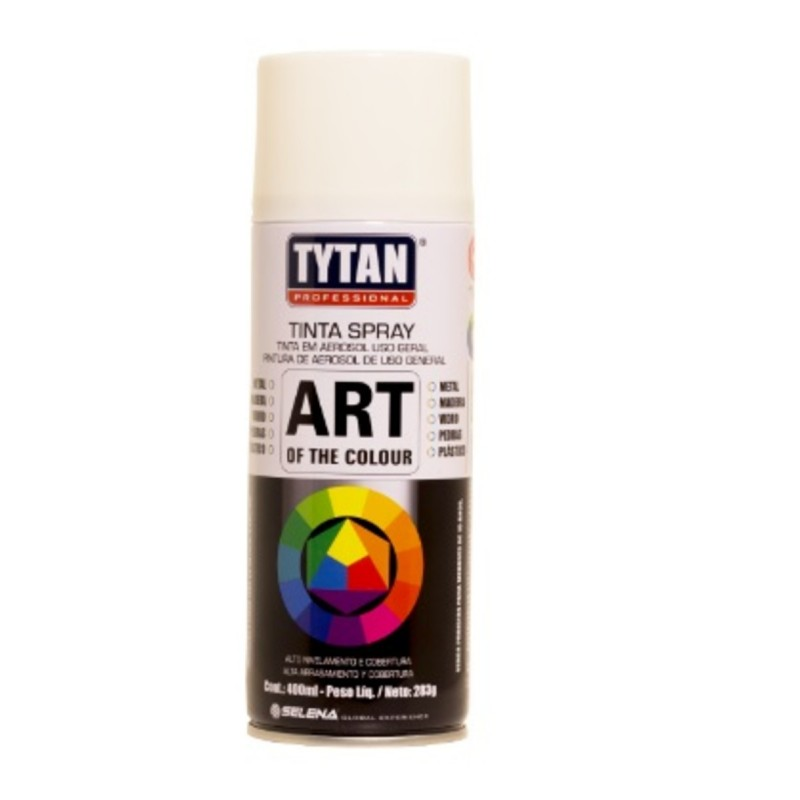 TINTA SPRAY BRANCO 400ML (TYTAN)