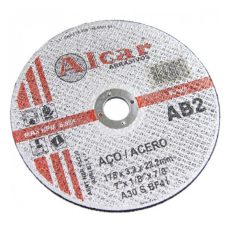 DISCO CORTE AR  4 1/2 FERRO ( ALCAR )