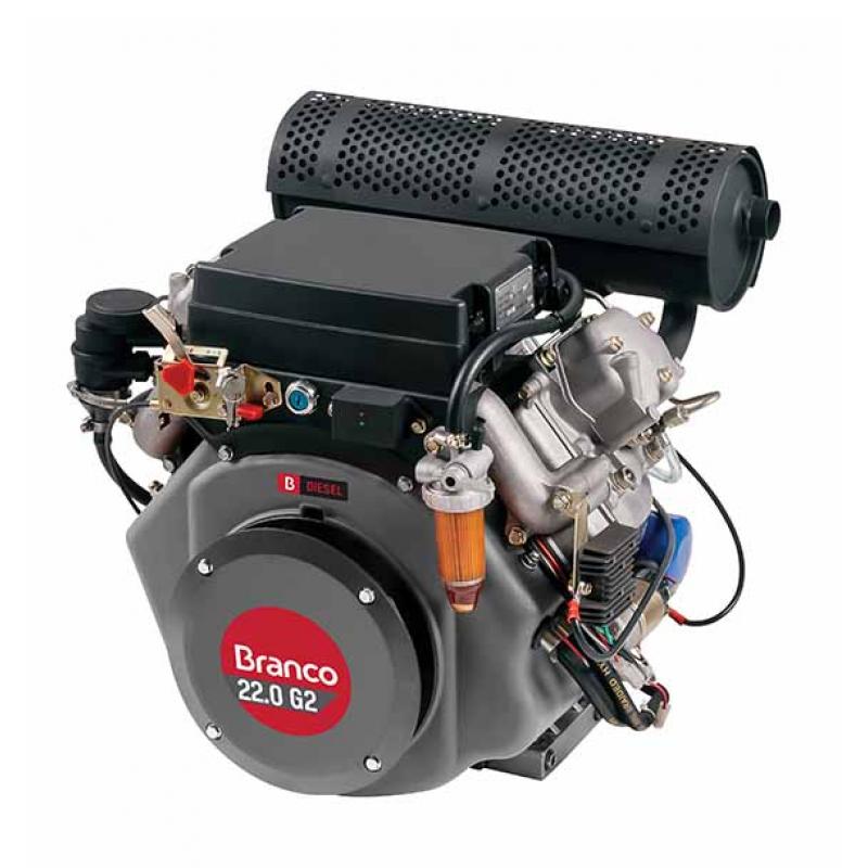 MOTOR A DIESEL BD 22.0 G2 H PARTIDA ELÉTRICA HP.E 90313492 (BRANCO)