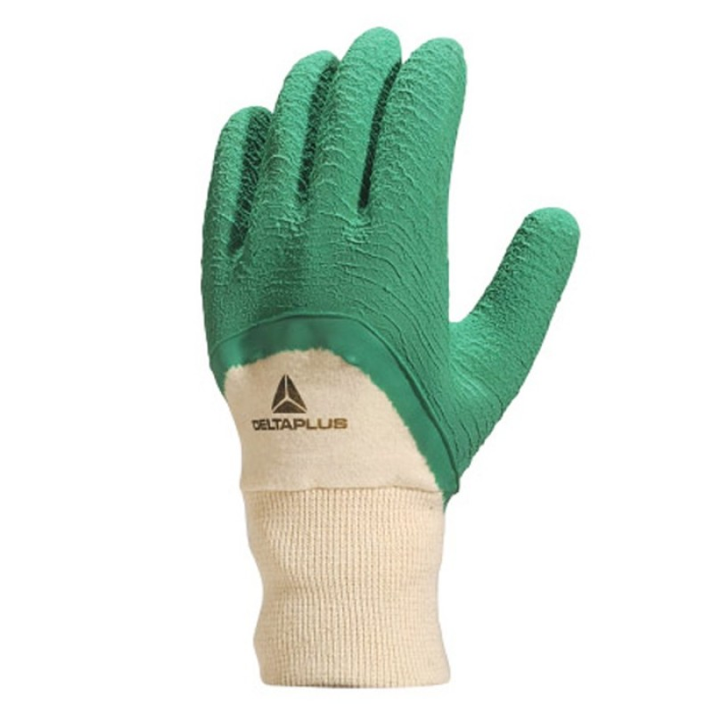 LUVA 12 LATEX VERDE LA50009 (DELTA PLUS)