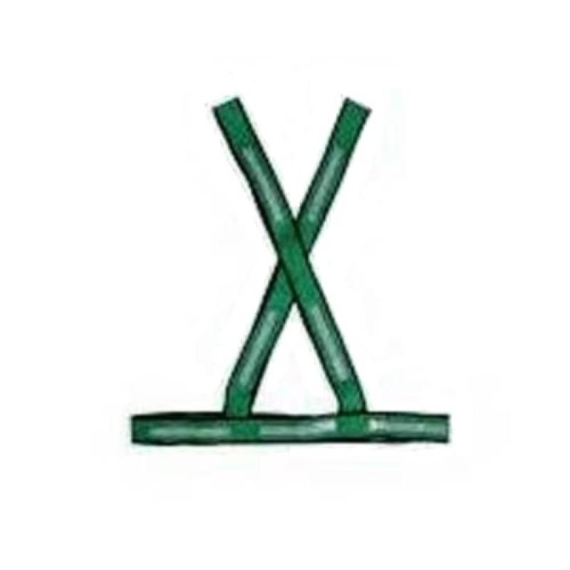 COLETE SINALIZAÇÃO X VERDE/PRA (STEELFLEX)