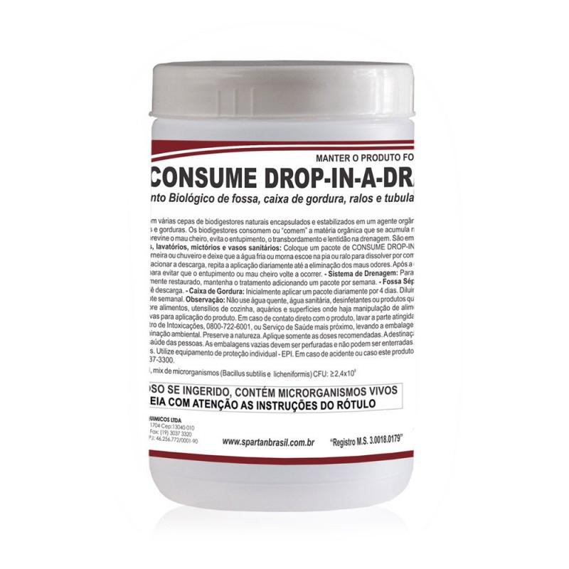 CONSUME DROP IN A DRAISN BACTERIA P/CAIXA DE GORDURA (SPARTAN)