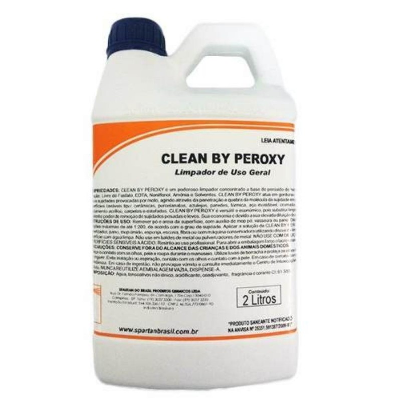DETERGENTE CLEAN BY PEROXY 2LTs (SPARTAN)