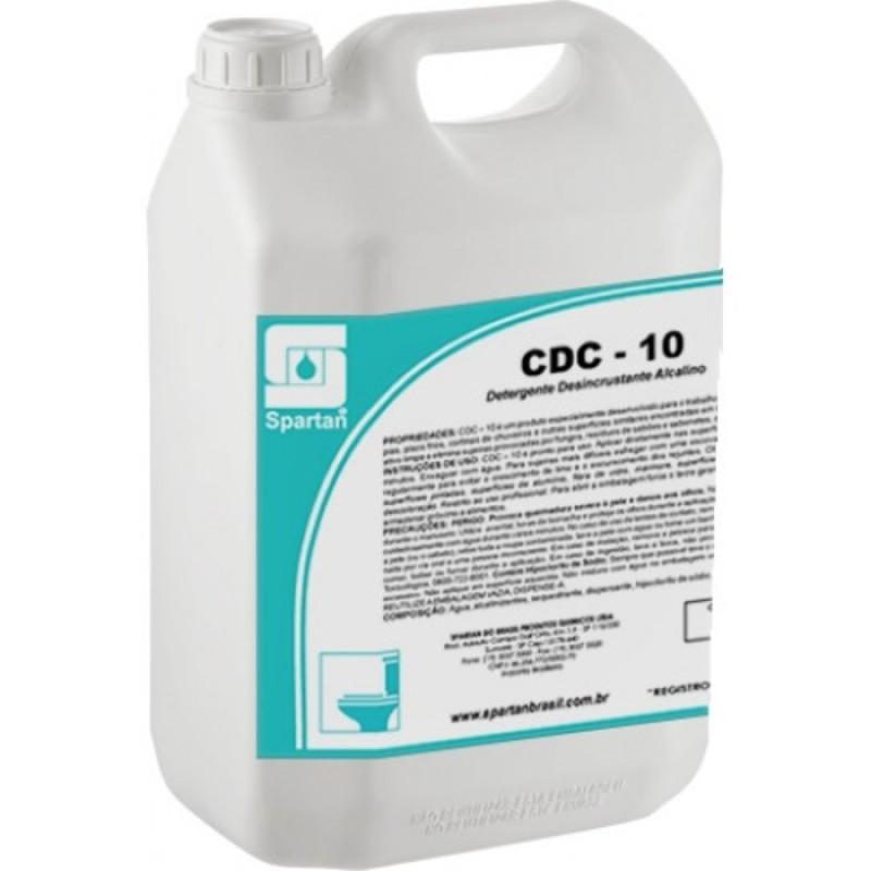 DETERGENTE DESINCRUSTANTE CDC-10 5Lts (SPARTAN)