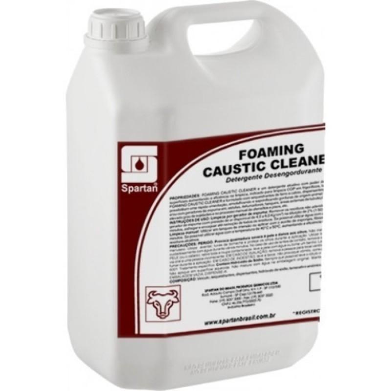DETERGENTE E DESENGORDURANTE FOAMING CAUSTIC CLEANER 5Lts (SPARTAN)