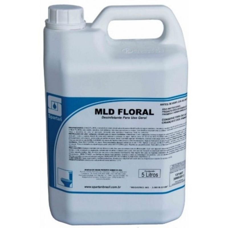 DESINFETANTE MLD FLORAL 5LTs (SPARTAN)