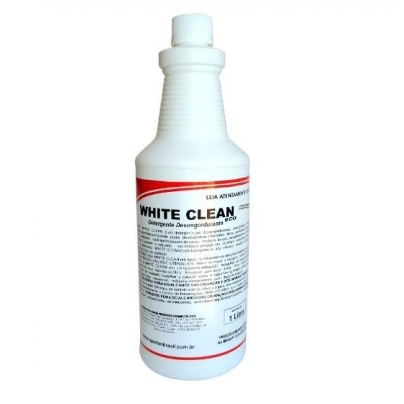 DETERGENTE E DESENGORDURANTE NEUTRO WHITE CLEAN  1LT (SPARTAN)